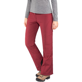Maier Sports Marie Pantalones Softshell Strech Mujer, cabernet
